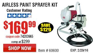 Airless Paint Sprayer Kit