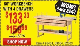 Hardwood Workbench