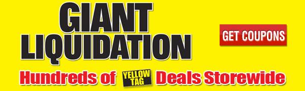 Giant Liquidation Sale