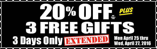3 Day Sale Extended