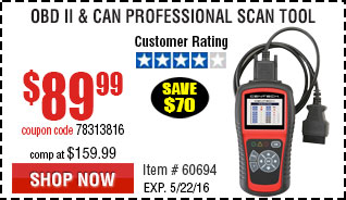 OBD II  & CAN Professional Scan Tool