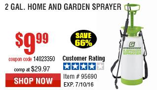 2 gal. Home and Garden Sprayer