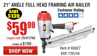Full Head Framing Air Nailer