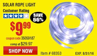 Solar Rope Light