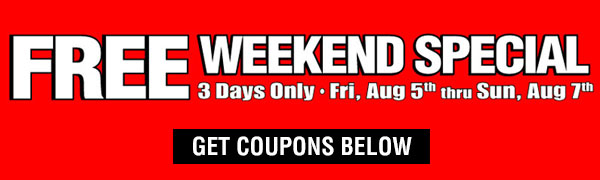 FREE Weekend Special