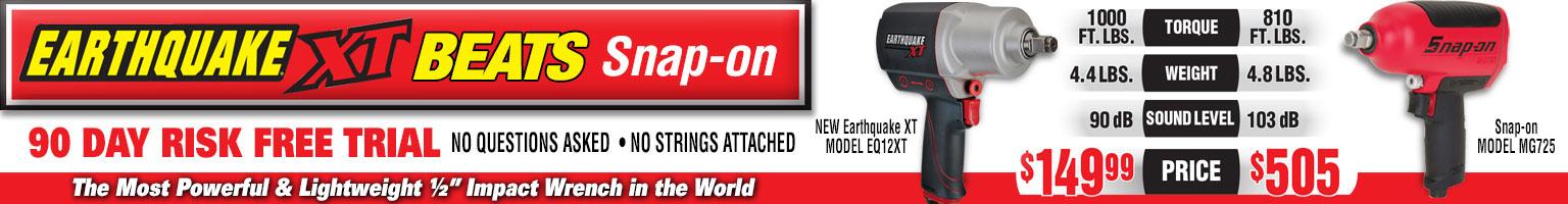 Earthquake XT Impact Wrench
