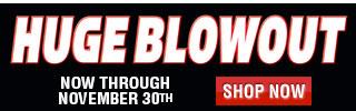 Huge Blowout Sale