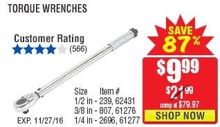 Torque wrench
