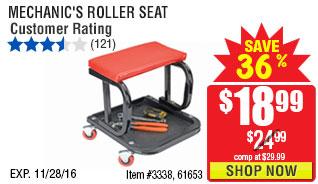 MECHANIC'S ROLLER SEAT