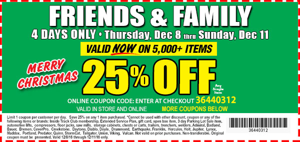 25% OFF coupon