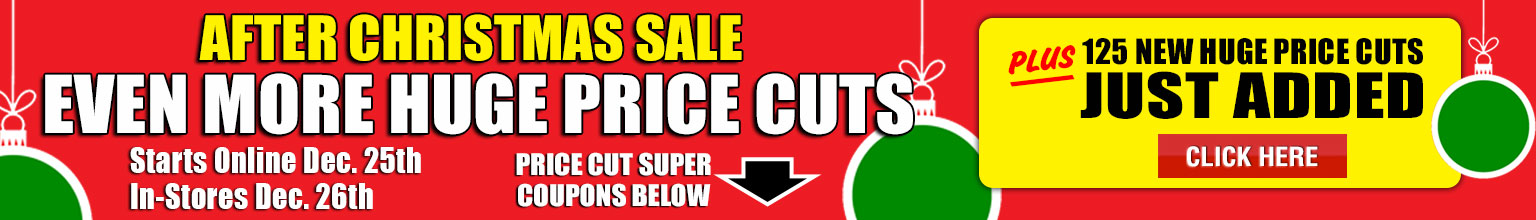 After Christmas Huge Price Cuts
