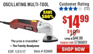 Oscillating Multi-Tool