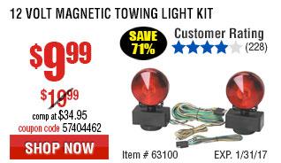 12 Volt Magnetic Towing Light Kit