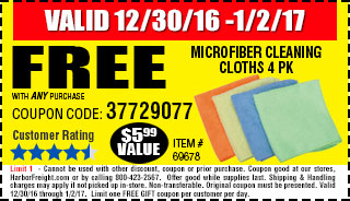 Microfiber Cleaning Cloths 4 Pk