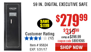 59 In. Digital Executive Safe