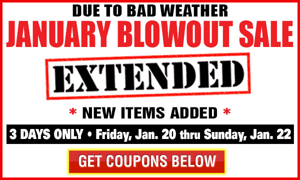 January Blowout Extended Sale