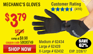 Mechanic's Gloves