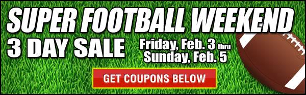 Super Football Sale