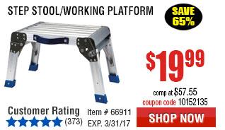 Step Stool/Working Platform