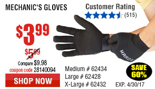 Mechanic's Gloves Large