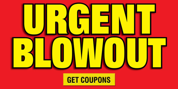 Urgent Blowout Sale