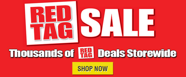 Red Tag Sale Sale