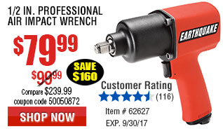 1/2 in. Aluminum Air Impact Wrench