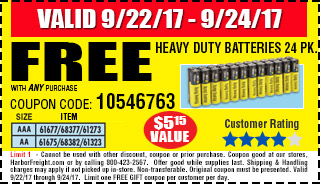 Heavy Duty Batteries 24 Pk