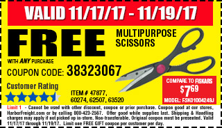 Free MULTIPURPOSE SCISSORS