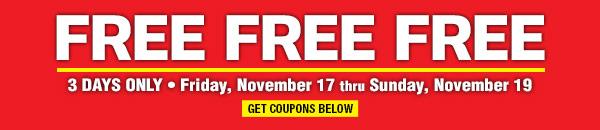 Free Free Free Sale