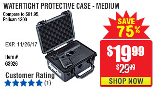 Watertight Protective Case - Medium
