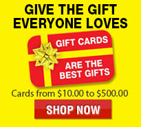 Thanksgiving Day Sale Gift Cards