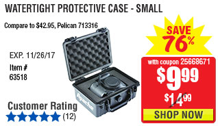 Watertight Protective Case - Small