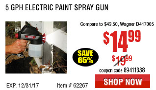 5 GPH Electric Paint Spray Gun