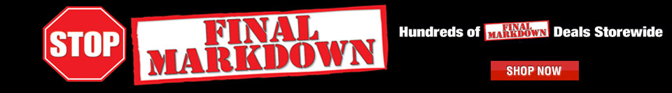 January Final Markdown