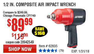 1/2 in. Composite Air Impact Wrench