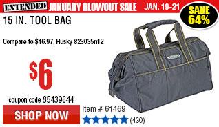 15 In. Tool Bag