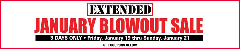 January Extended January Blowout