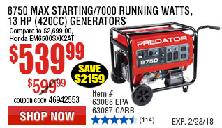 Jasper Engines Prices >> Harbor Freight Tools – Quality Tools at Discount Prices Since 1977