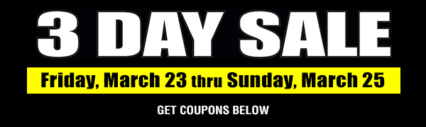 March 3 Day Sale