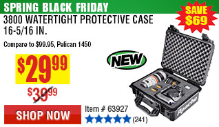 3800 Watertight Protective Case - 16-5/16 In.