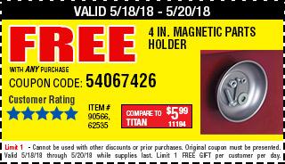 Free parts holder