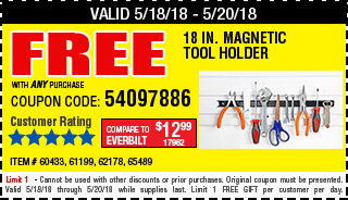Free Tool holder