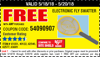Free Electronic Fly Swatter