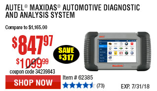 AUTEL® MaxiDAS® Automotive Diagnostic and Analysis System