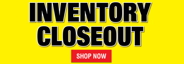 October Inventory Closeout Sale