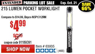 215 Lumen Pocket Worklight