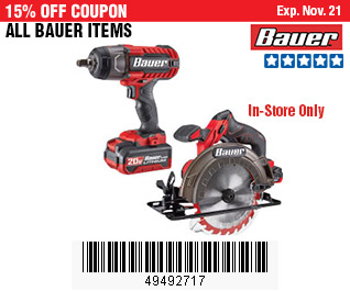 All Bauer Items on Sale, no Excusions