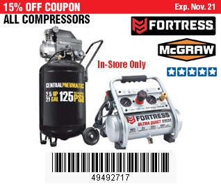 All Compressors on Sale, no Excusions