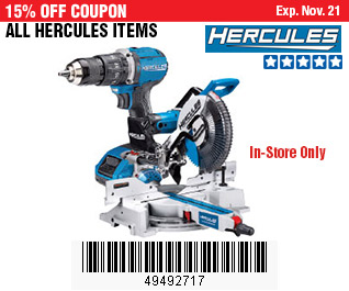 All Hercules Items on Sale, no Excusions